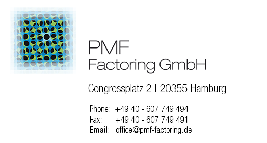 Contact data PMF Factoring GmbH